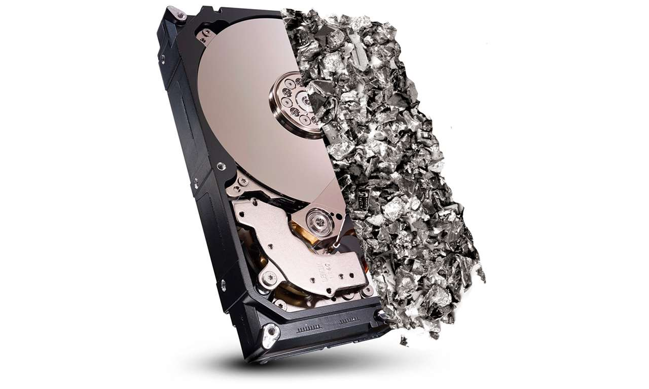 Destruering av data
